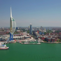 Portsmouth City & Coast Helicopter Tour