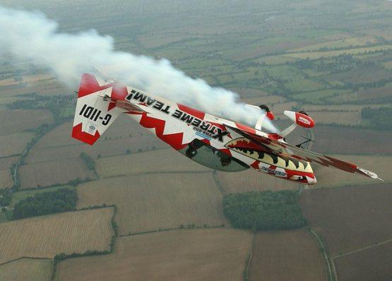 Utter Nutter Aerobatics Flight