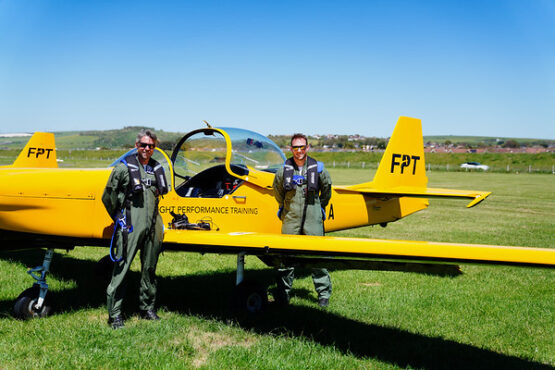 Fly with recent Red Arrow Pilot Toby Keeley